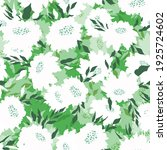 floral seamless pattern with... | Shutterstock .eps vector #1925724602