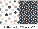 abstract geometric irregular... | Shutterstock .eps vector #1925755562