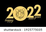 drawing of the 2022 tiger...   Shutterstock .eps vector #1925775035