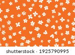floral seamless with hand drawn ... | Shutterstock .eps vector #1925790995