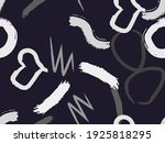 cute seamless pattern with... | Shutterstock .eps vector #1925818295