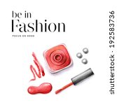 be in fashion   hand drawing . | Shutterstock . vector #192583736