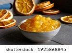 Orange Marmalade In Bowl....
