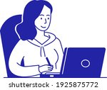 simple illustration of graphic... | Shutterstock .eps vector #1925875772