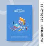 book search concept for...   Shutterstock .eps vector #1926012458