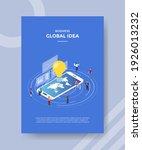 global idea concept for... | Shutterstock .eps vector #1926013232