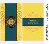 ornamental floral cards or... | Shutterstock .eps vector #1926046232