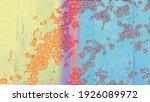 grunge multicolor art abstract... | Shutterstock . vector #1926089972