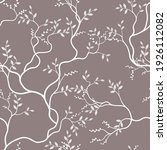 Seamless Pattern Of Branches...