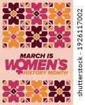 women's history month.... | Shutterstock .eps vector #1926117002
