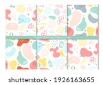 abstract geometric seamless... | Shutterstock .eps vector #1926163655