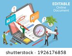 3d isometric flat vector... | Shutterstock .eps vector #1926176858