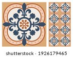 set of patterned azulejo floor... | Shutterstock .eps vector #1926179465