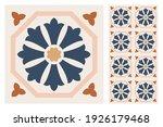 set of patterned azulejo floor... | Shutterstock .eps vector #1926179468