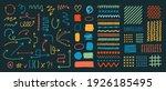 set of various arrows  textures ... | Shutterstock .eps vector #1926185495