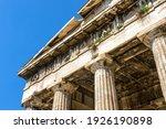 Temple Of Hephaestus In Agora ...
