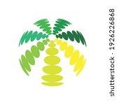swing circle logo design eps | Shutterstock .eps vector #1926226868
