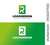 r logo design creative and... | Shutterstock .eps vector #1926237032