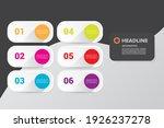 vector clean modern white paper ... | Shutterstock .eps vector #1926237278