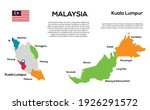 malaysia map. vector image of a ...   Shutterstock .eps vector #1926291572