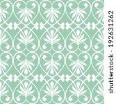 seamless wrought iron inspired... | Shutterstock .eps vector #192631262