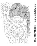 vector hand drawn coloring page ... | Shutterstock .eps vector #1926330272