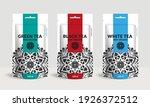 Set Of Tea Packaging Design...