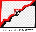 versus day template. vector...   Shutterstock .eps vector #1926377975