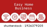 easy home business background...