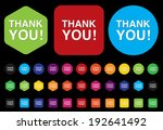 thank you icon | Shutterstock . vector #192641492