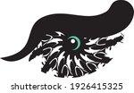 tribal owl eye symbol on the... | Shutterstock .eps vector #1926415325