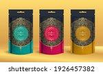 set of tea packaging design... | Shutterstock .eps vector #1926457382