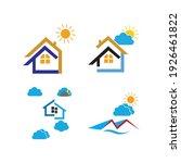 creative house set logo vector... | Shutterstock .eps vector #1926461822