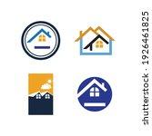 creative house set logo vector... | Shutterstock .eps vector #1926461825