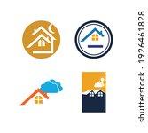 creative house set logo vector... | Shutterstock .eps vector #1926461828