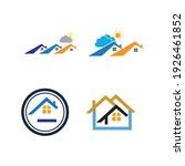 creative house set logo vector... | Shutterstock .eps vector #1926461852