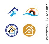 creative house set logo vector... | Shutterstock .eps vector #1926461855