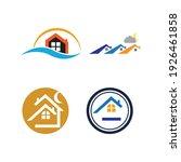 creative house set logo vector... | Shutterstock .eps vector #1926461858