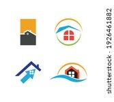 creative house set logo vector... | Shutterstock .eps vector #1926461882