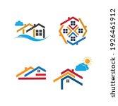 creative house set logo vector... | Shutterstock .eps vector #1926461912