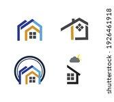 creative house set logo vector... | Shutterstock .eps vector #1926461918