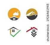 creative house set logo vector... | Shutterstock .eps vector #1926461945