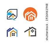 creative house set logo vector... | Shutterstock .eps vector #1926461948