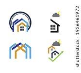creative house set logo vector... | Shutterstock .eps vector #1926461972