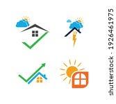 creative house set logo vector... | Shutterstock .eps vector #1926461975