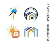 creative house set logo vector... | Shutterstock .eps vector #1926461978