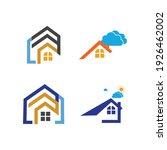 creative house set logo vector... | Shutterstock .eps vector #1926462002