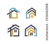creative house set logo vector... | Shutterstock .eps vector #1926462008