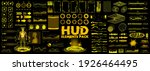scifi collection hud  gui  ui... | Shutterstock .eps vector #1926464495