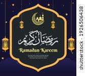 ramadan kareem. islamic... | Shutterstock .eps vector #1926506438